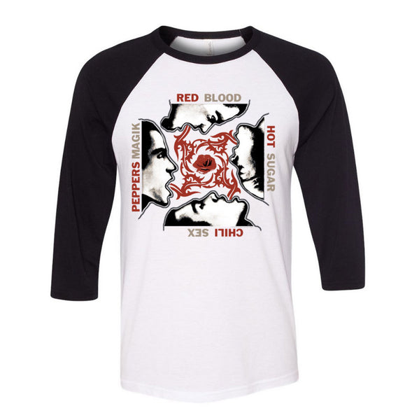 Blood Sugar Sex Magik White & Black Raglan