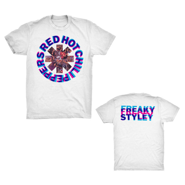 Freaky Styley White T Shirt