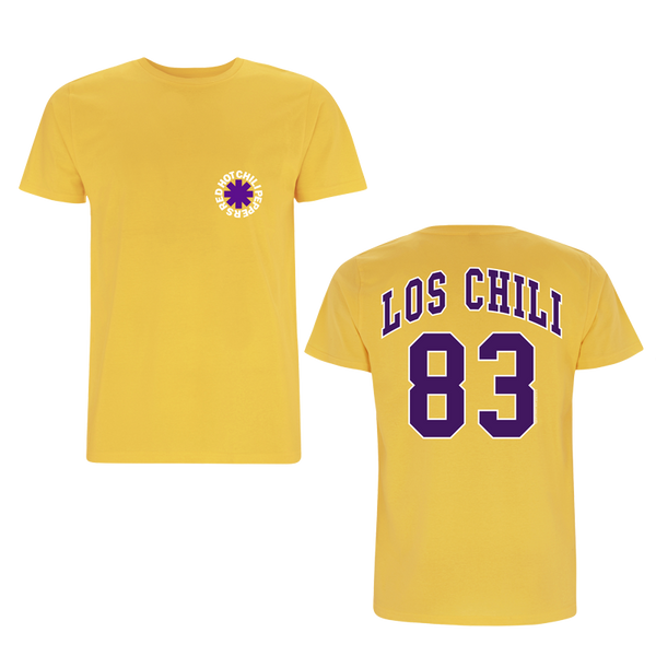 Mens Los Chili Yellow T-Shirt
