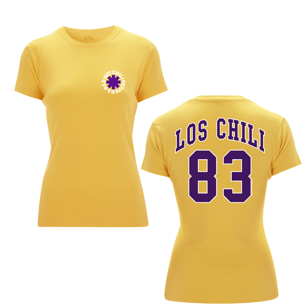 Women's Los Chili Yellow T-Shirt