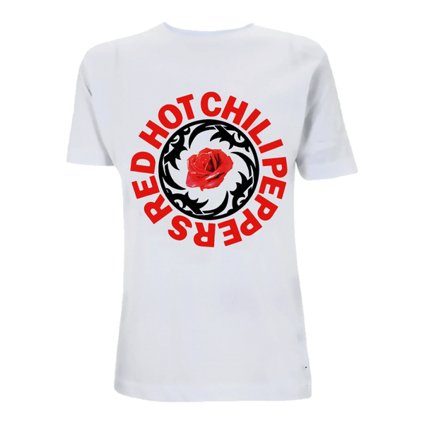 White BSSM Rose T-Shirt