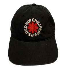 "NEW RHCP Asterisk ""Dad Hat"" Style Black Baseball Cap"