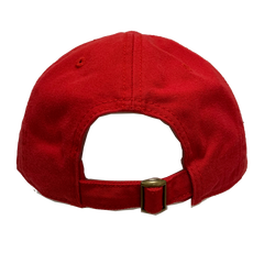 "NEW RHCP Asterisk ""Dad Hat"" Style Red Baseball Cap"