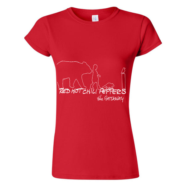 Women's The Getaway Silhouette Red T-Shirt
