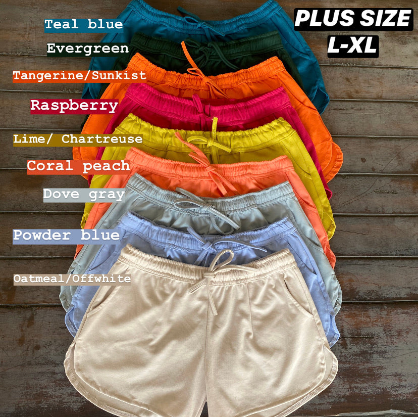 Batch 2- Summer Cotton Shorts (Free size & Plus size)
