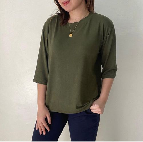 Basic Oversized Tee (Round Neck)