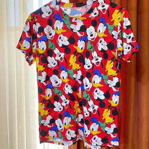 Mickey & Friends Cotton Lounge Tees