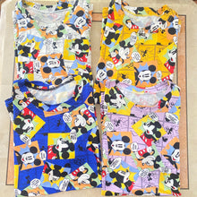 Load image into Gallery viewer, Mickey & Friends Cotton Lounge Tees
