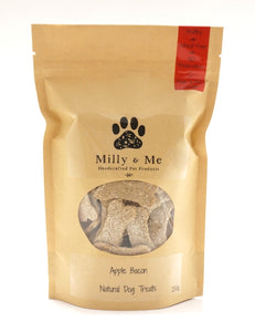 Apple Bacon Natural Dog Treats - WHEAT FREE