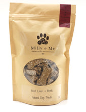 Load image into Gallery viewer, Beef Liver & Beets Natural Dog Treats - WHEAT FREE