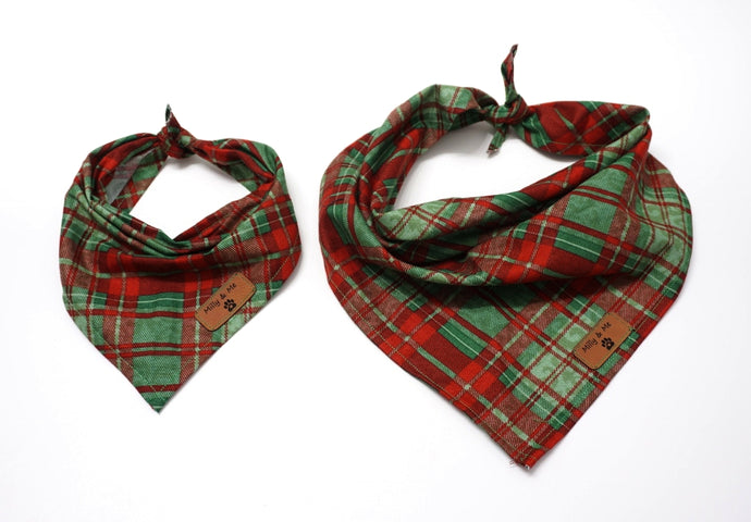 Christmas Plaid - Bandana