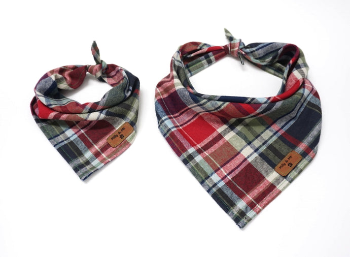 Fisherman's Plaid Red - Bandana