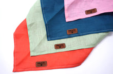 Load image into Gallery viewer, Mint - Pure Linen Bandana