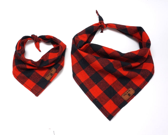 Red Buffalo Plaid - Bandana