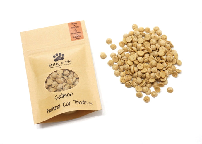 Salmon Natural Cat Treats - GRAIN FREE