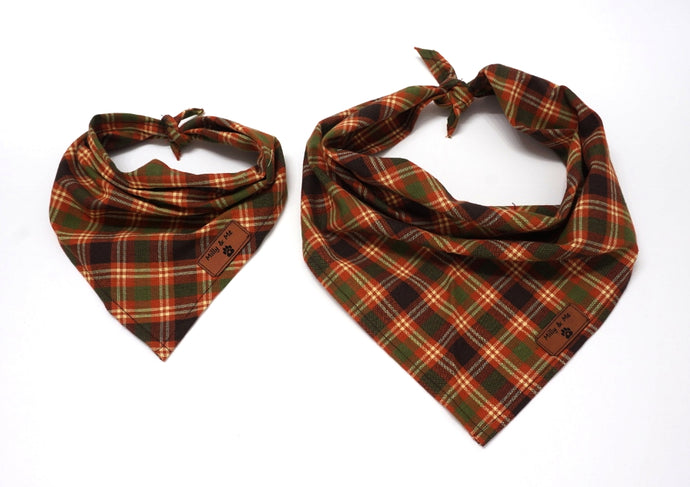Thanksgiving Plaid - Bandana