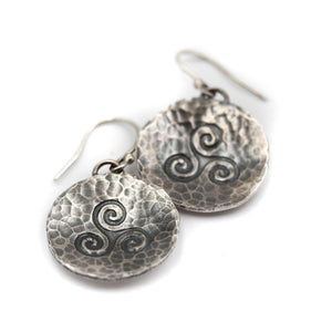 Triskelion Earrings