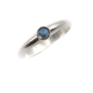 'Full Moon' Moonstone Ring