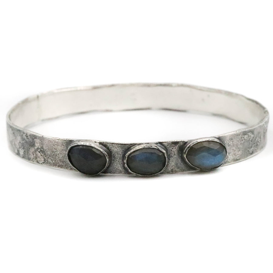 Labradorite Bangle - XXL
