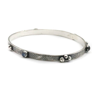 Moonstone Bangle - small