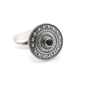 The Shield Ring - size UK N // US 7