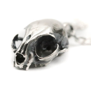 Freyja's Shadow - Cat skull Pendant