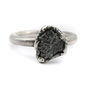 Stardust raw diamond ring - size UK N // US 7