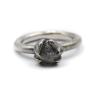 Stardust raw diamond ring - size UK P // US 8