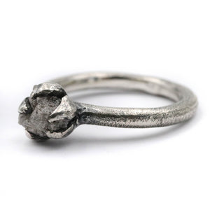 Stardust raw diamond ring - size UK T // US 10
