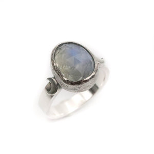 Moonstone Ring size UK L, US 6