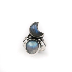 Luna Rising Ring - fits size UK M, US 6.5