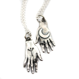 Supreme hand of protection pendant