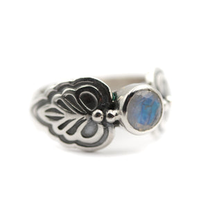 Moonflower Ring size UK L, US 6