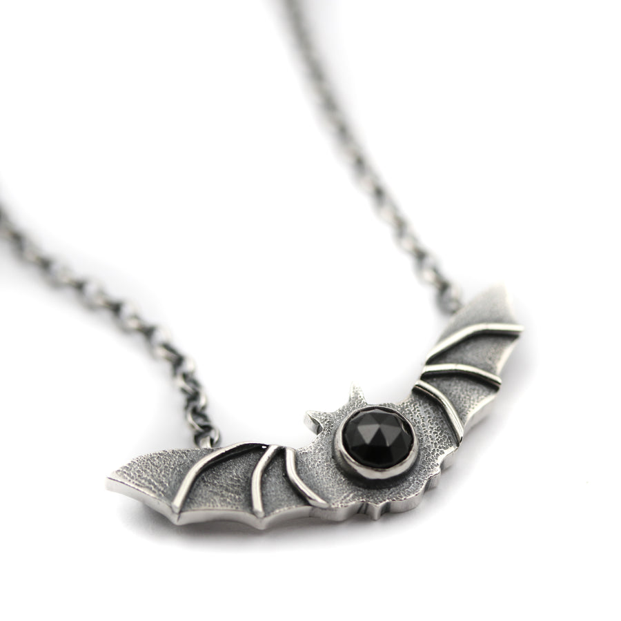 """Nocturne"" Bat Necklace"