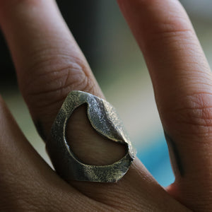 Moonbabe Ring - UK K 1/2, US 5.75
