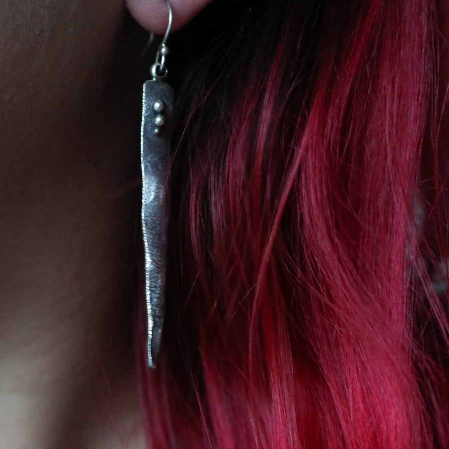 'Gungnir' - Spear of Odin Earrings