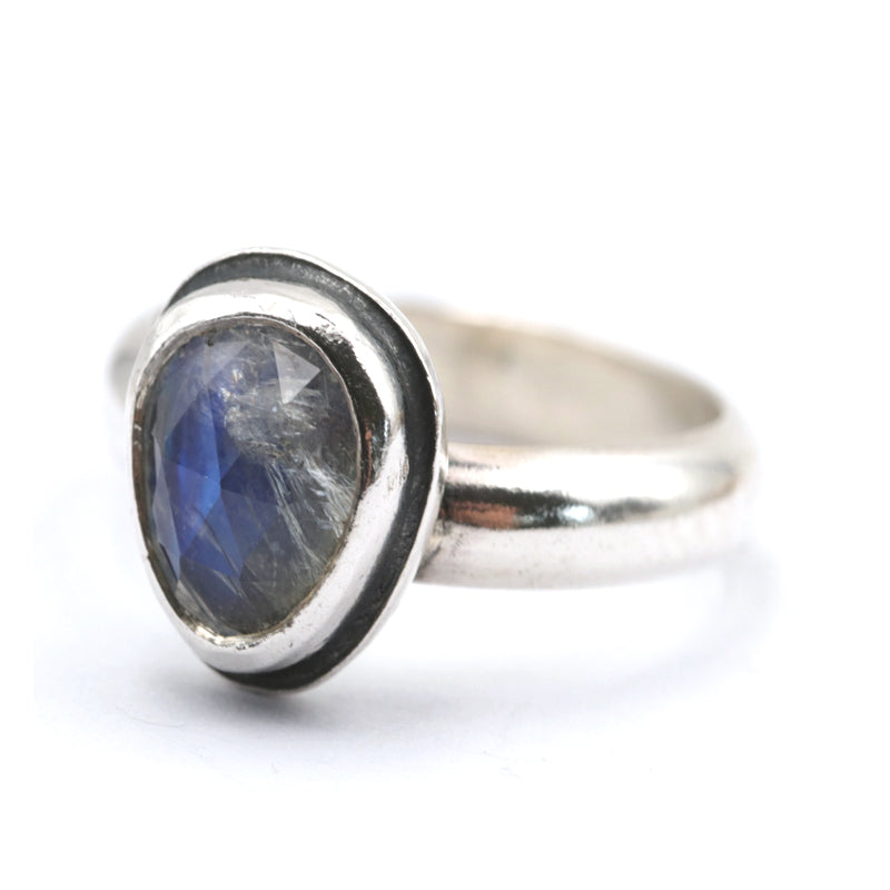 Moonstone Ring - UK L, US 6