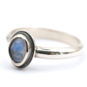 Moonstone Ring - UK R, US 9