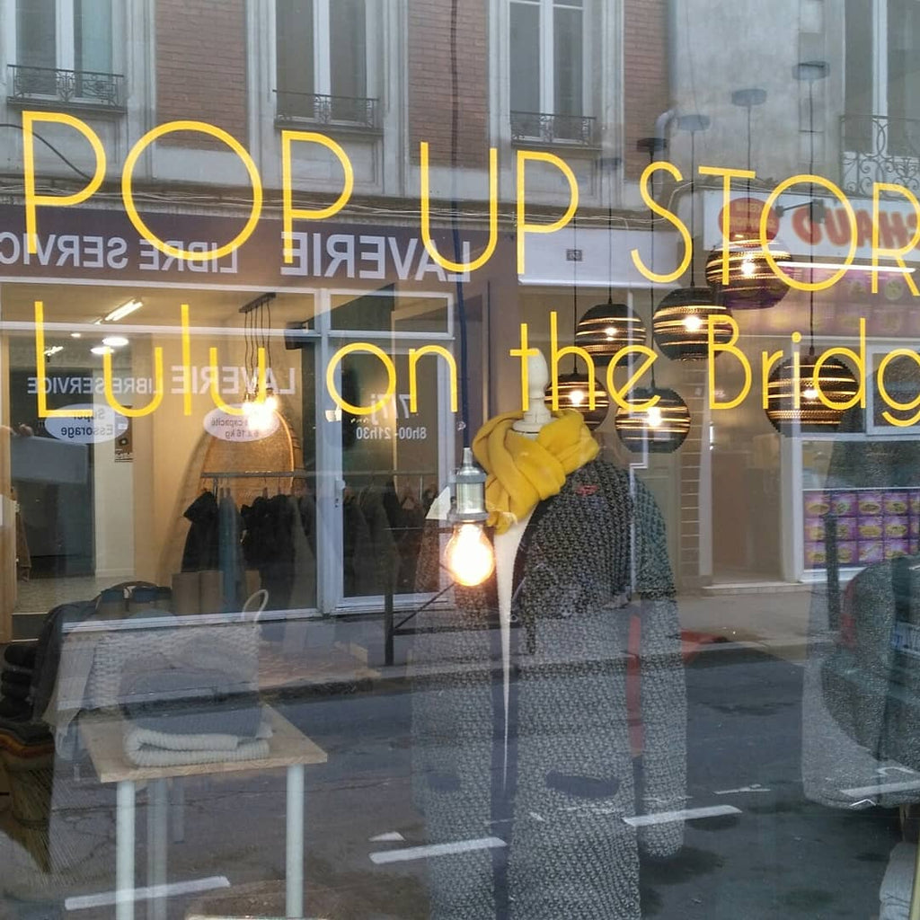 Pop Up store Lulu on the Bridge à Nantes