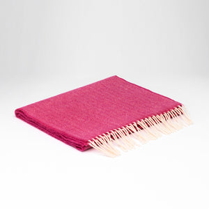 Echarpe en laine d agneau Supersoft - Framboise – Lulu on the Bridge 420676d1205