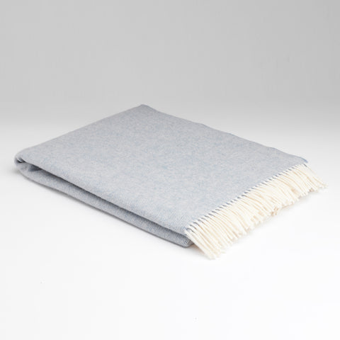 Plaid en laine d'agneau Supersoft - Smoke