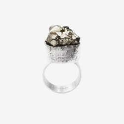 LACE PYRITE RING