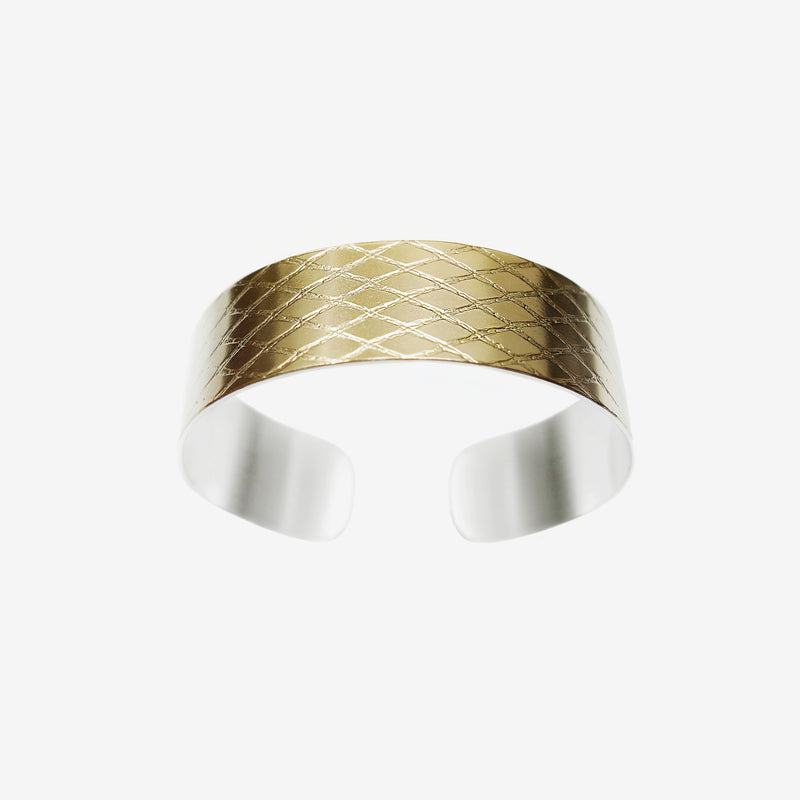 NET CUFF SMALL GOLD