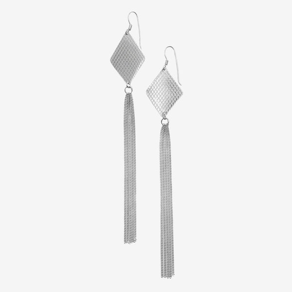 WIRE RHOMB EARRINGS
