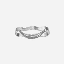 WIRE TRIPLE CHAIN RING