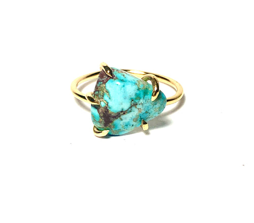 Turquoise Birthstone Ring
