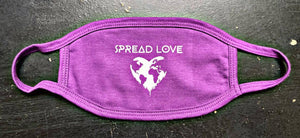 Spread Love Worldwide Face Cover