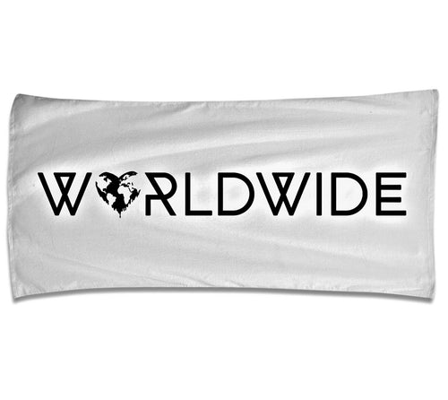 Spread Love Worldwide Beach Towel