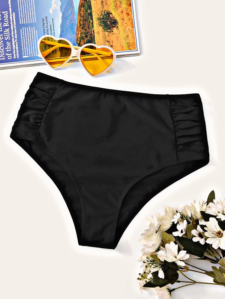 Spread Love Ruched High Waisted Swimming Panty