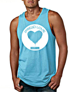 Spread Love Men's Big Logo Tank Top